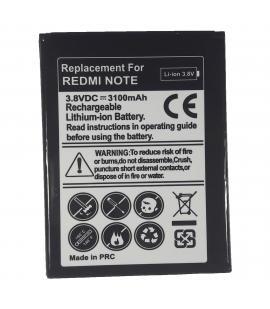 Bateria de recambio Modelo BM42 para movil Xiaomi Redmi Note capacidad 3100 mah