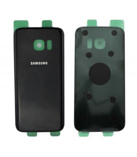 Tapa trasera cristal trasero para Samsung Galaxy S7 Edge G935F Negra Back Cover