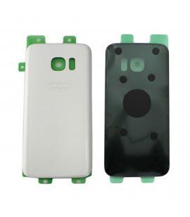 Tapa trasera de bateria cristal trasero para Samsung Galaxy S7 G930 Blanca
