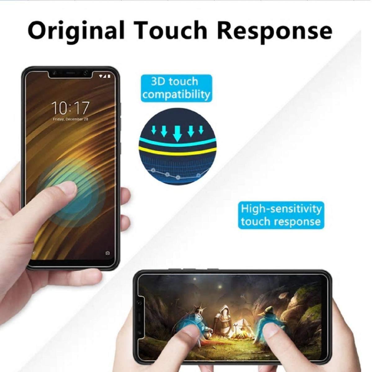Kit-Protector-de-Pantalla-Cristal-Templado-Vidrio-para-Huawei-P-Smart-2019 miniatura 7