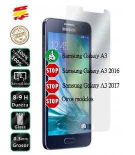 Protector Cristal Templado Samsung Galaxy A3 A5 A6 A7 A8 A9 Plus 2016 2017 2018