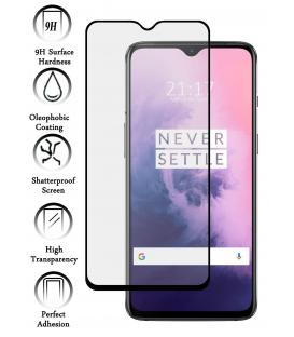 Protector de Cristal Templado Completo 3D 9H para OnePlus 7 Elige Color