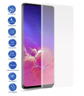 Protector de Cristal Templado Completo 9H para Galaxy Note 10 Plus Elige Color