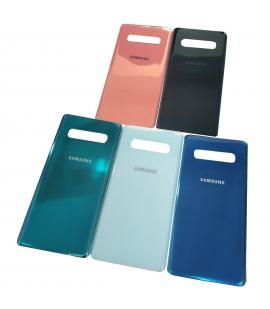 Tapa trasera de bateria cristal para Samsung Galaxy S10 Plus G975 Elige Color