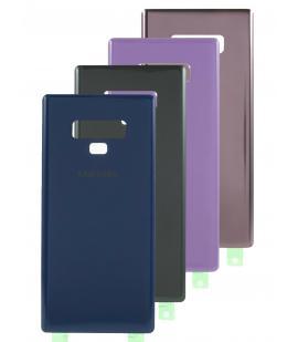 Tapa trasera de bateria cristal para Samsung Galaxy Note 9 N960F Elige Color