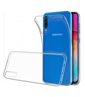 Funda de gel TPU carcasa silicona para movil Samsung Galaxy A50 Transparente