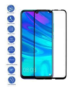 Protector de Pantalla Huawei P Smart Plus 2019 Negro Completo Cristal Templado