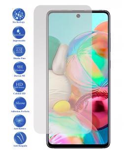 Protector de pantalla Galaxy A71 de Cristal Templado Vidrio 9H para movil - Todotumovil