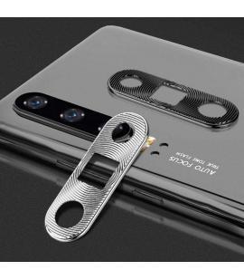 Protector para lente de cámara Huawei P30 anti arañazos y golpes en color negro