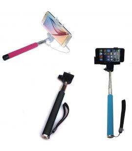 Palo extensible selfie Monopod para cámaras de teléfonos móviles disponible en varios colores a elegir