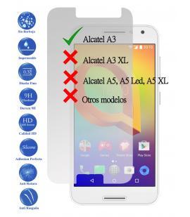 Protector de Pantalla Cristal Templado Vidrio 9H Premium para Alcatel A3 4G 5.0