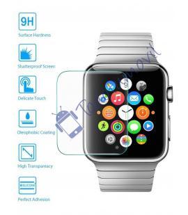 Lote Protector de Pantalla Cristal Templado Premium para Reloj Apple Watch 42mm