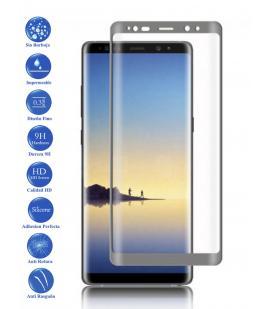 Protector de Pantalla Cristal Templado Completo para Samsung Galaxy Note 8 Metal