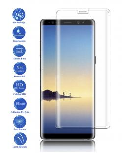 Protector de Pantalla Cristal Templado Completo Samsung Galaxy Note 8 Trasnparente