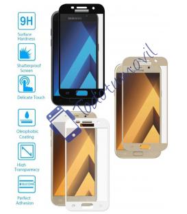 Protector de Cristal Templado Completo para Samsung Galaxy A3 2017 Elije Color