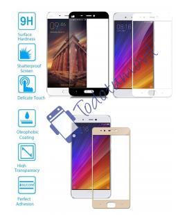 Protector de Cristal Templado Completo 3D 9H para Xiaomi MI5 MI 5 Elije Color
