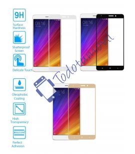 Protector de Cristal Templado Completo 3D 9H para Xiaomi MI5S Plus Elige Color