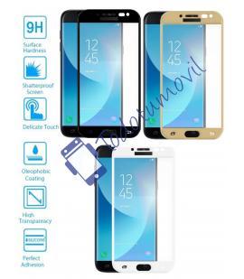 Protector de Cristal Templado Completo para Samsung Galaxy J5 2017 Elige Color
