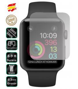 Protector de Pantalla Cristal Templado Vidrio 9H para Apple Watch Series 2 42mm