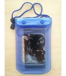 Funda Bolsa Estanca Azul, Impermeable y Sumergible de PVC para la Playa, Piscina