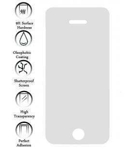 Kit Protector de Pantalla Cristal Templado Vidrio para Apple Iphone 5S I5GS
