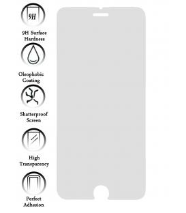 Kit Protector de Pantalla Cristal Templado Premium para Apple Iphone 6S I6S 4.7