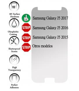 Kit Protector de Pantalla Cristal Templado para Samsung Galaxy J5 2017 J530