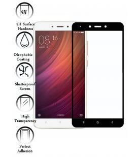 Kit Protector de Pantalla Cristal Templado para Xiaomi Redmi Note 4X Negro