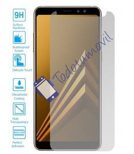 Protector de Pantalla Cristal Templado Vidrio 9H para Samsung Galaxy A8 2018