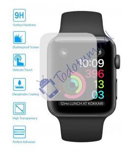 Lote Protector de Pantalla Cristal Templado Reloj Apple Watch Series 3 42 mm