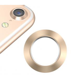 Protector Aro Anillo de metal para camara y lente Apple Iphone 7 I7 Color Oro