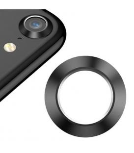 Protector Aro Anillo de metal para camara y lente Apple Iphone 8 I8 Color Negro