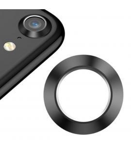 Protector Aro Anillo de metal para camara y lente Apple Iphone 8 I8 Color Negro