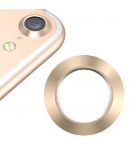 Protector Aro Anillo de metal para camara y lente Apple Iphone 8 I8 Color Dorado
