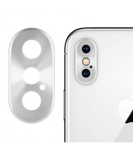 Protector Aro Anillo de metal para camara y lente Apple Iphone X 10 Color Metal