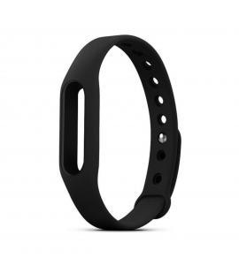 Recambio de correa de silicona para pulsera reloj Xiaomi Mi Band 2 Color Negro