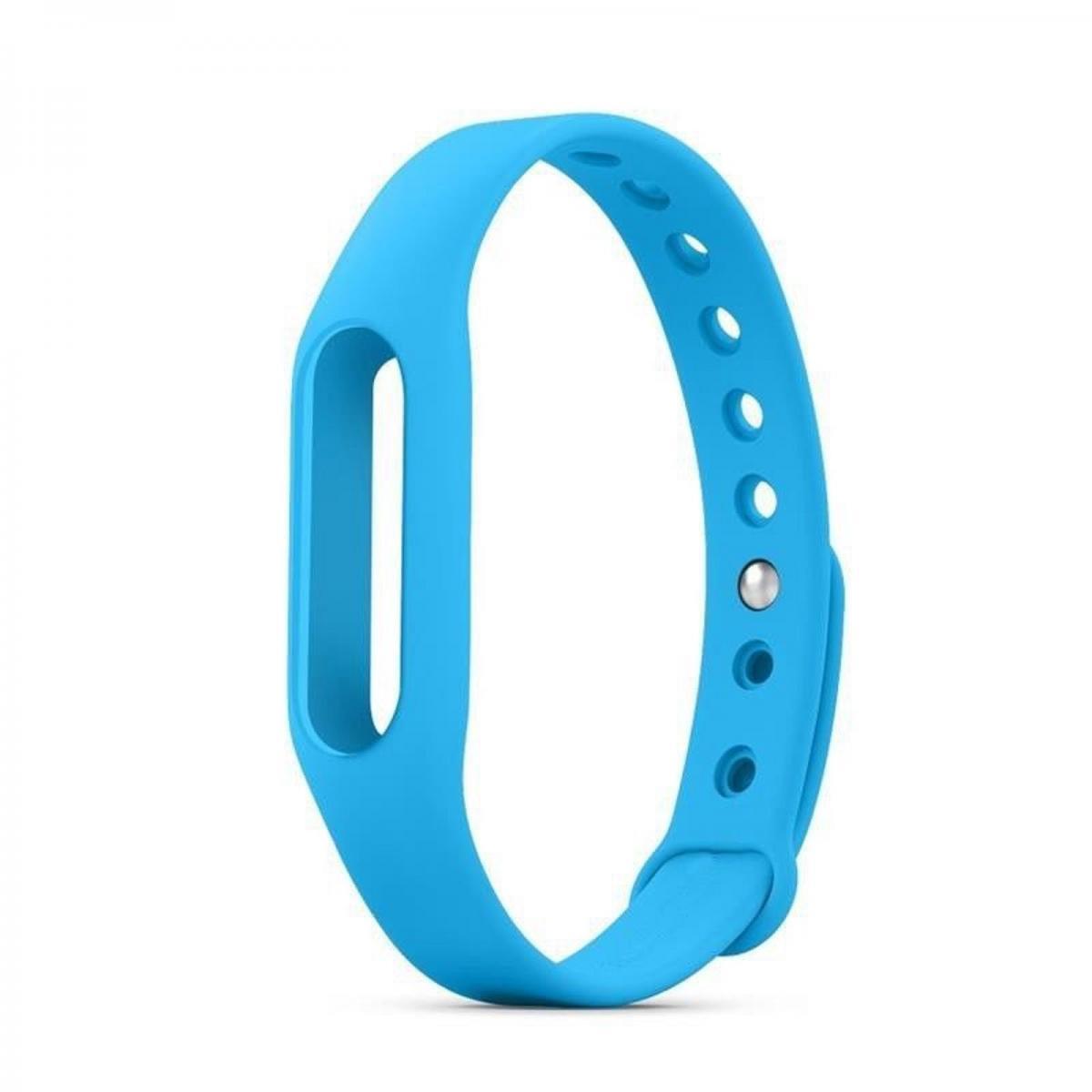 28994cd3436f Recambio de correa de silicona para pulsera reloj Xiaomi Mi Band 2 Color  Azul
