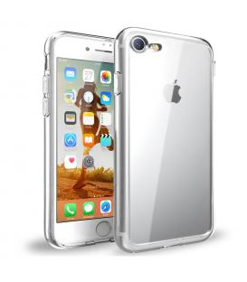 Funda de gel TPU carcasa protectora silicona para Apple Iphone 7 Transparente