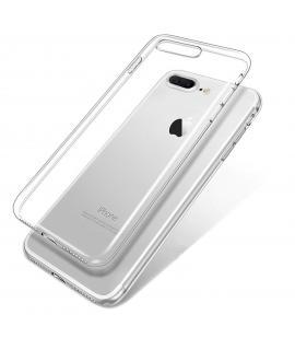 Funda de gel TPU carcasa silicona para movil Apple Iphone 8 Plus TRANSPARENTE