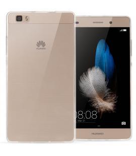Funda de gel TPU carcasa protectora silicona para Huawei Ascend P8 Transparente