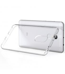 Funda de gel TPU carcasa silicona para movil Xiaomi NOTE 4X TRANSPARENTE