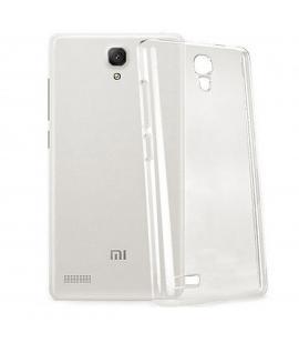 Funda de gel TPU carcasa silicona para Xiaomi Redmi Note 1 Transparente