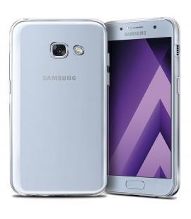 Funda de gel TPU carcasa silicona para Samsung Galaxy A3 2017 Transparente