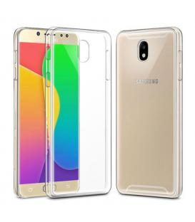 Funda de gel TPU carcasa silicona para movil Samsung Galaxy J7 2017 TRANSPARENTE