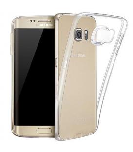 Funda de gel TPU carcasa silicona para Samsung Galaxy S6 Edge Transparente