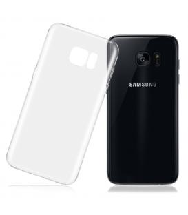 Funda de gel TPU carcasa silicona para Samsung Galaxy S7 Edge Transparente