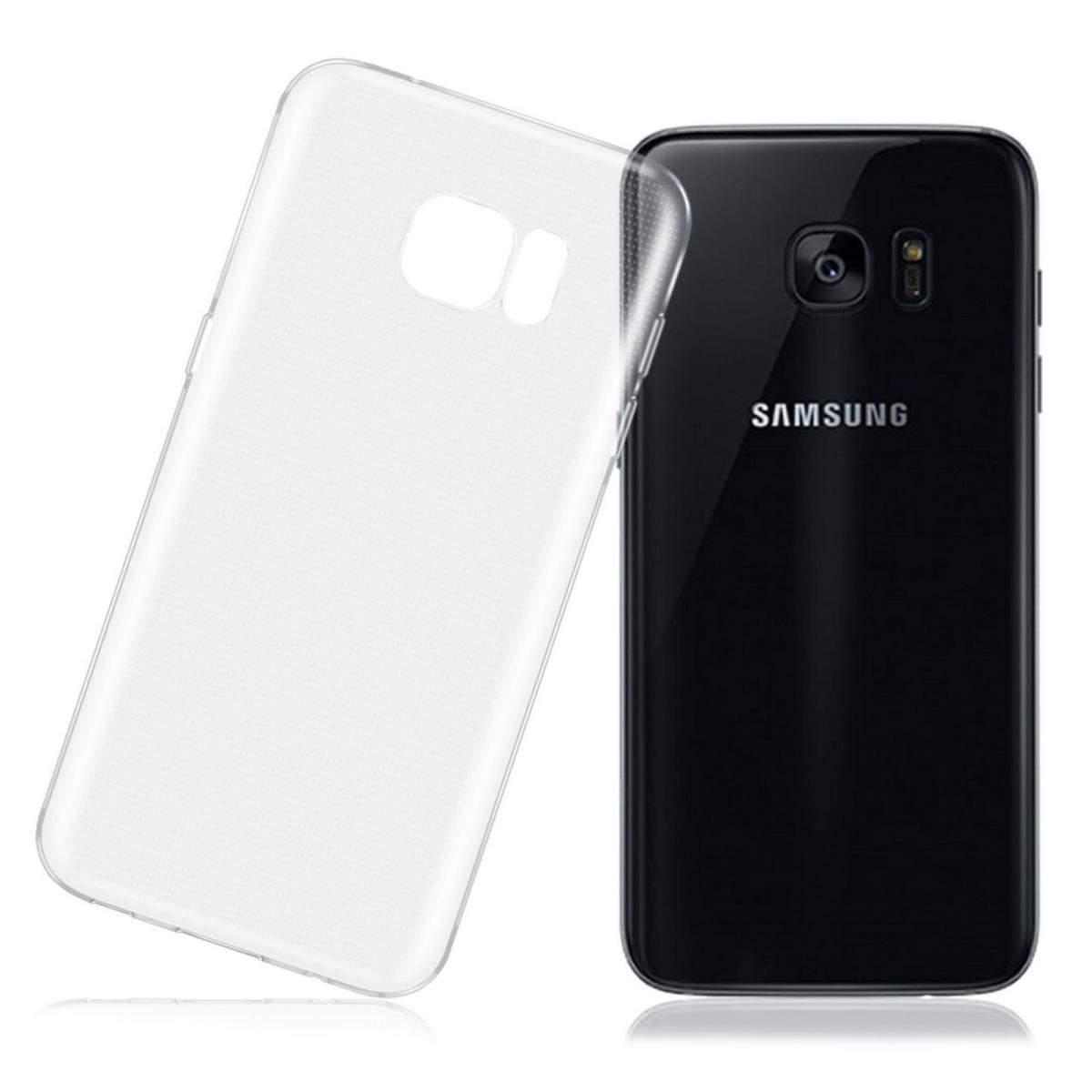 341024508c0 Funda de gel TPU carcasa silicona para Samsung Galaxy S7 Edge Transparente