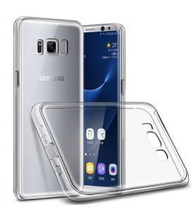 Funda de gel TPU carcasa silicona para movil Samsung Galaxy S8 Plus Transparente