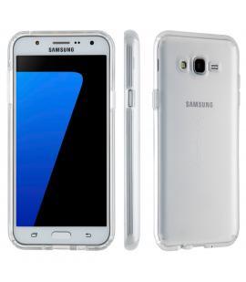 Funda de gel TPU Carcasa silicona para Samsung Galaxy J7 2016 Transparente