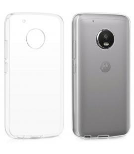 Funda de gel TPU carcasa protectora silicona para Motorola G5 Transparente